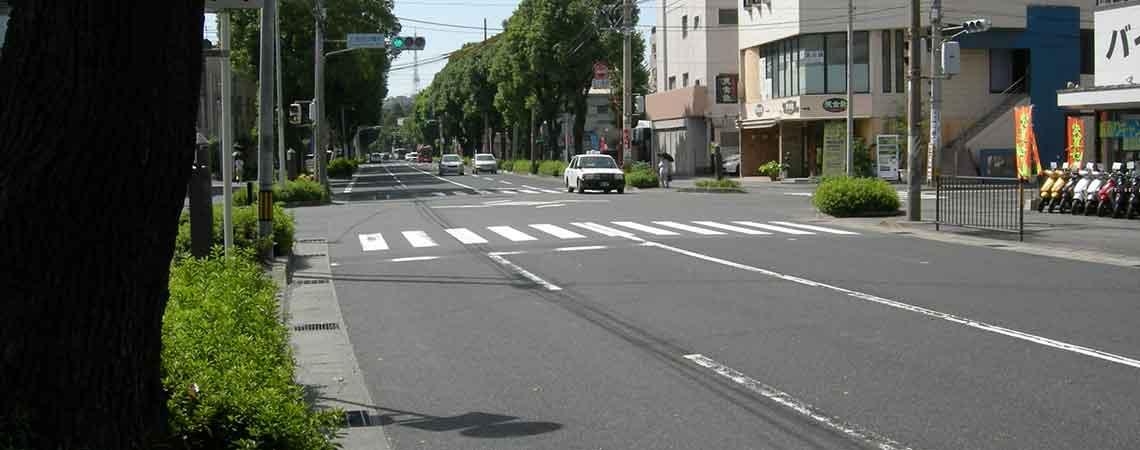 道路拡張工事before1